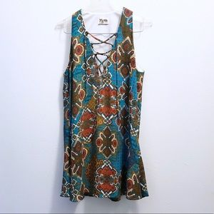 Show Me Your MuMu Dresses - Show Me Your MuMu Rancho Mirage Boho Mini Dress
